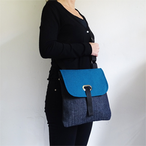 Denim Blue crossbody bag