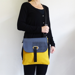Mustard Barcelona crossbody bag