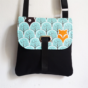 Fox crossbody bag