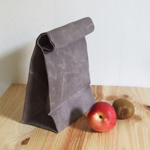 Lunch bag light brown