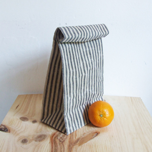 Lunch bag striped