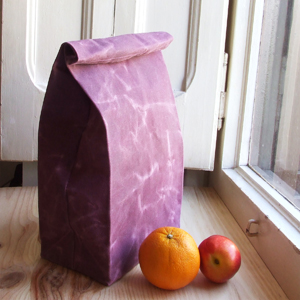 Lunch bag purple
