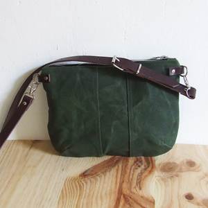 Army green mini bag