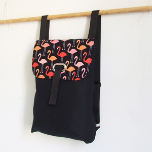 Flamingos backpack
