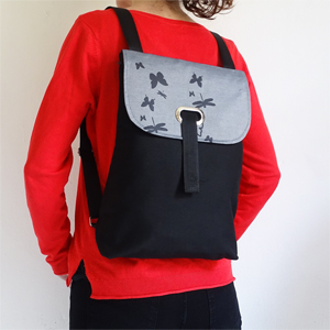 Butterflies and dragonflies backpack