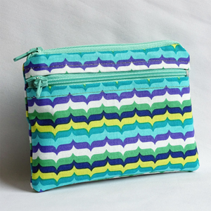 Colored lines purse