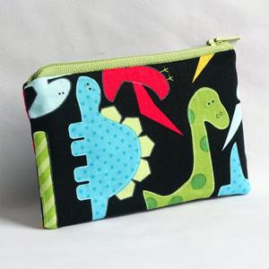 Dinosaurs purse