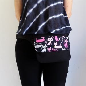 Cats hip bag