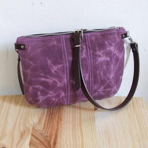 Purple small bag