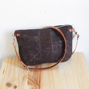 Chocolate brown small bag