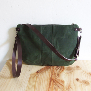 Army green small bag